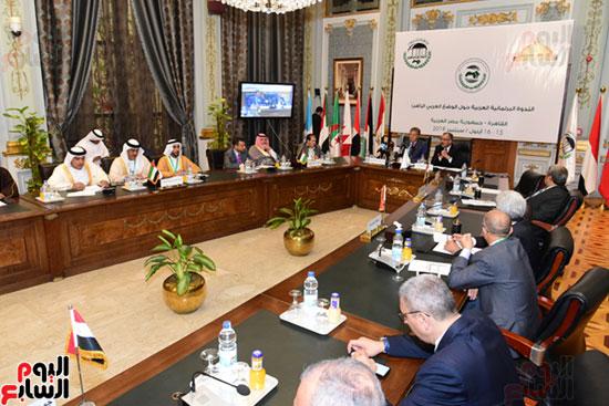 الندوة البرلمانية العربية للاتحاد البرلماني العربي المنعقدة بمجلس النواب (10)