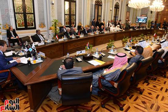 الندوة البرلمانية العربية للاتحاد البرلماني العربي المنعقدة بمجلس النواب (15)
