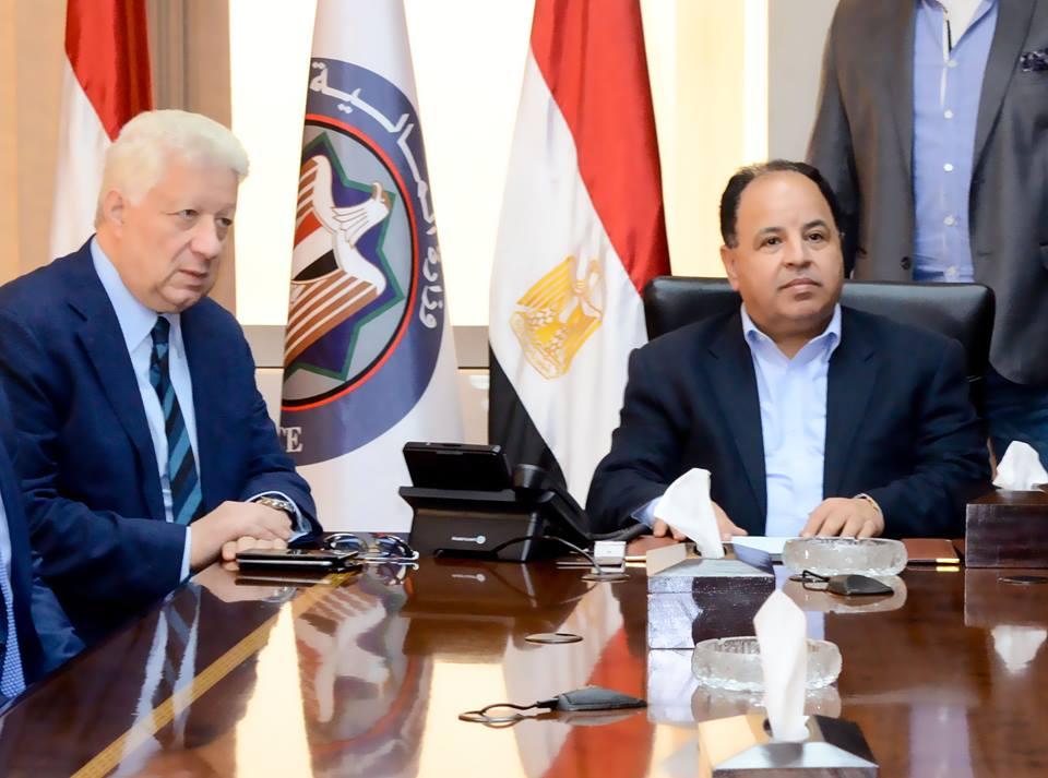 جلسة مجلس الزمالك مع وزير المالية (5)