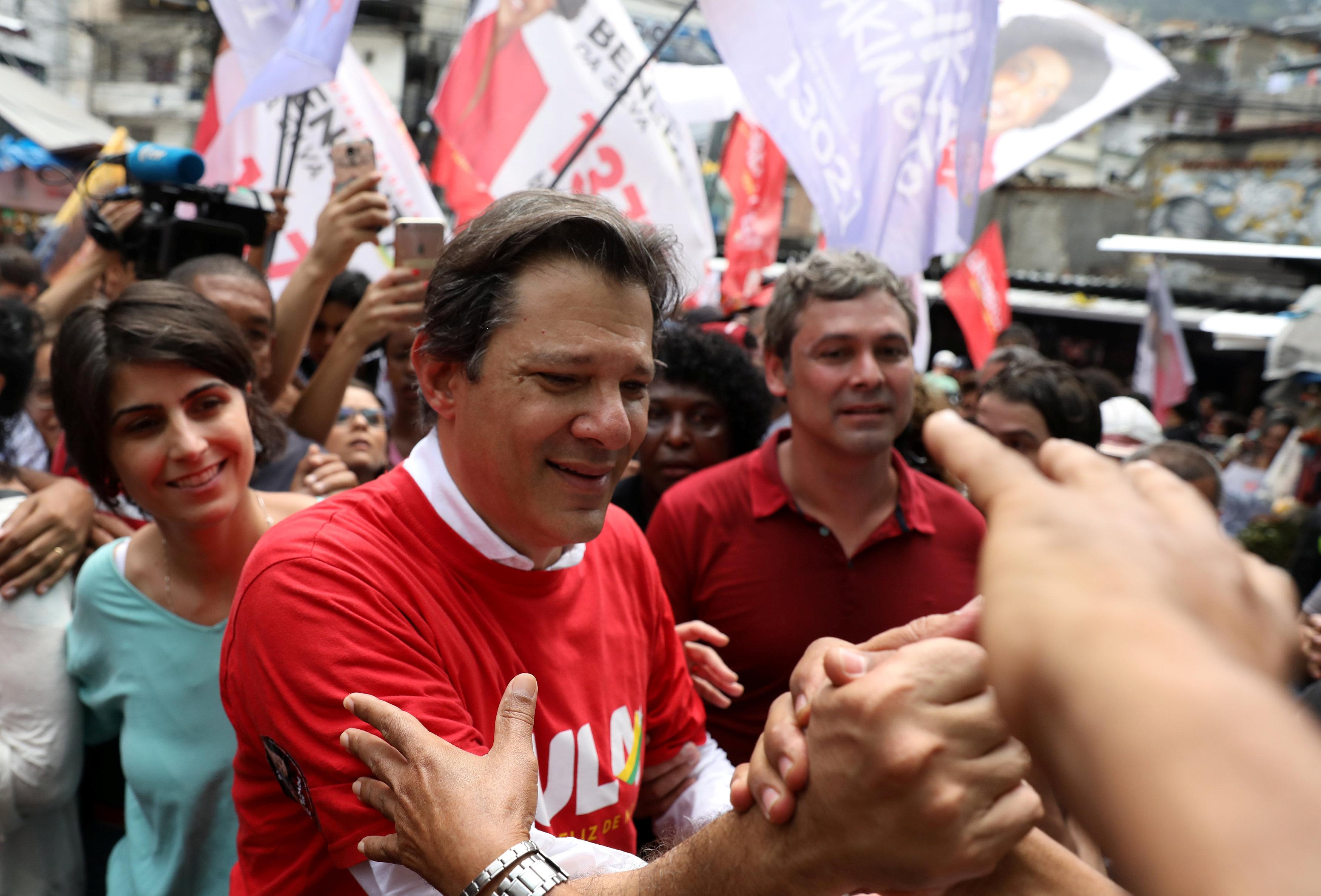 فرناندو حداد مرشّح اليسار للانتخابات الرئاسيّة البرازيليّة