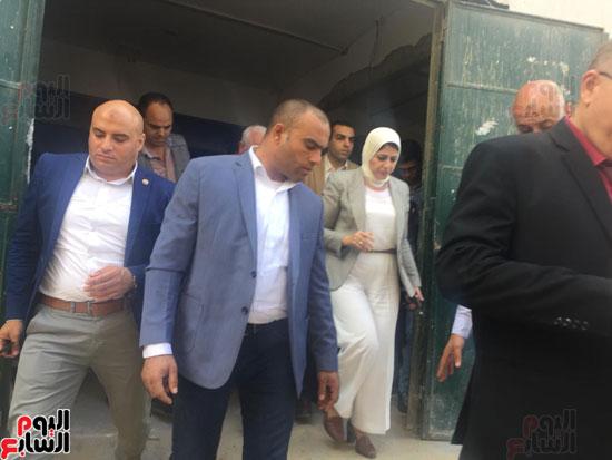 وصول-وزيرة-الصحة-لمحافظة-بورسعيد