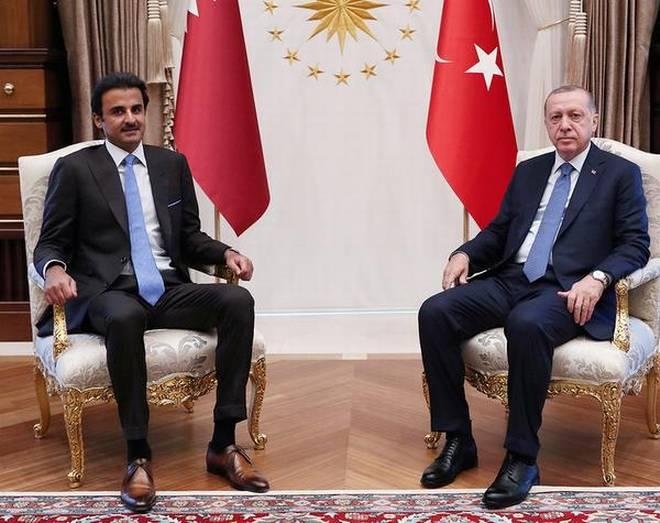 تميم تحدى الولايات المتحدة وزار تركيا