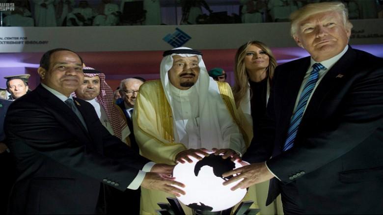 ترامب اتجه لاستعادة حلفاءه التقليديين وعلى رأسهم مصر والسعودية