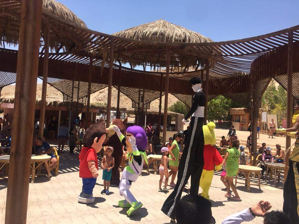فقرات للأطفال السياح داخل الفنادق
