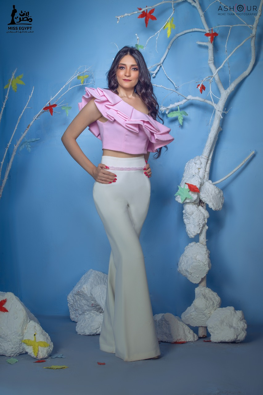 أول جلسة تصوير لمتسابقات Miss egypt (13)