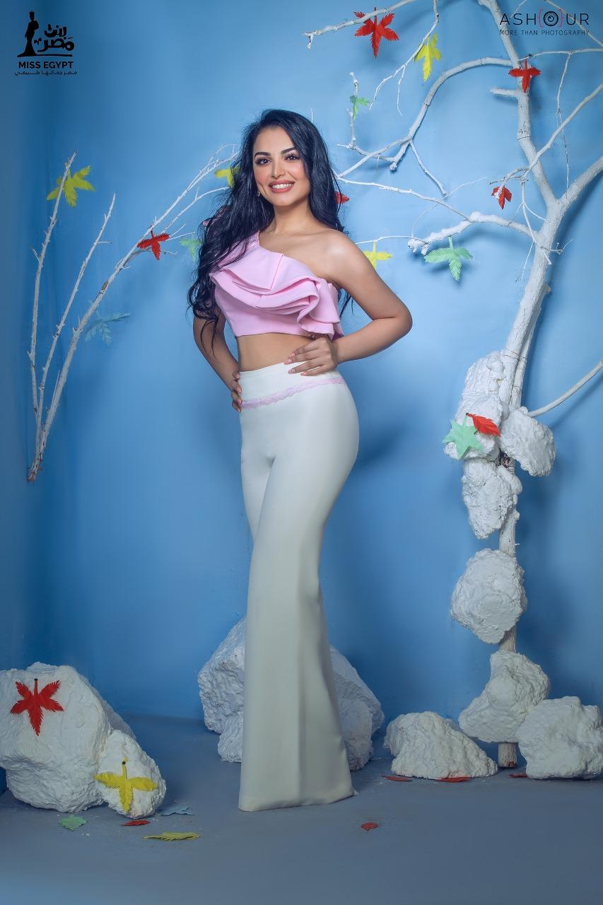 أول جلسة تصوير لمتسابقات Miss egypt (4)