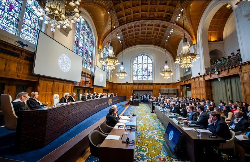محاكمة العدل الدولية