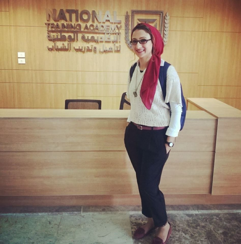 حنان مجدي نور الدين نائب محافظ الوادى الجديد  (2)