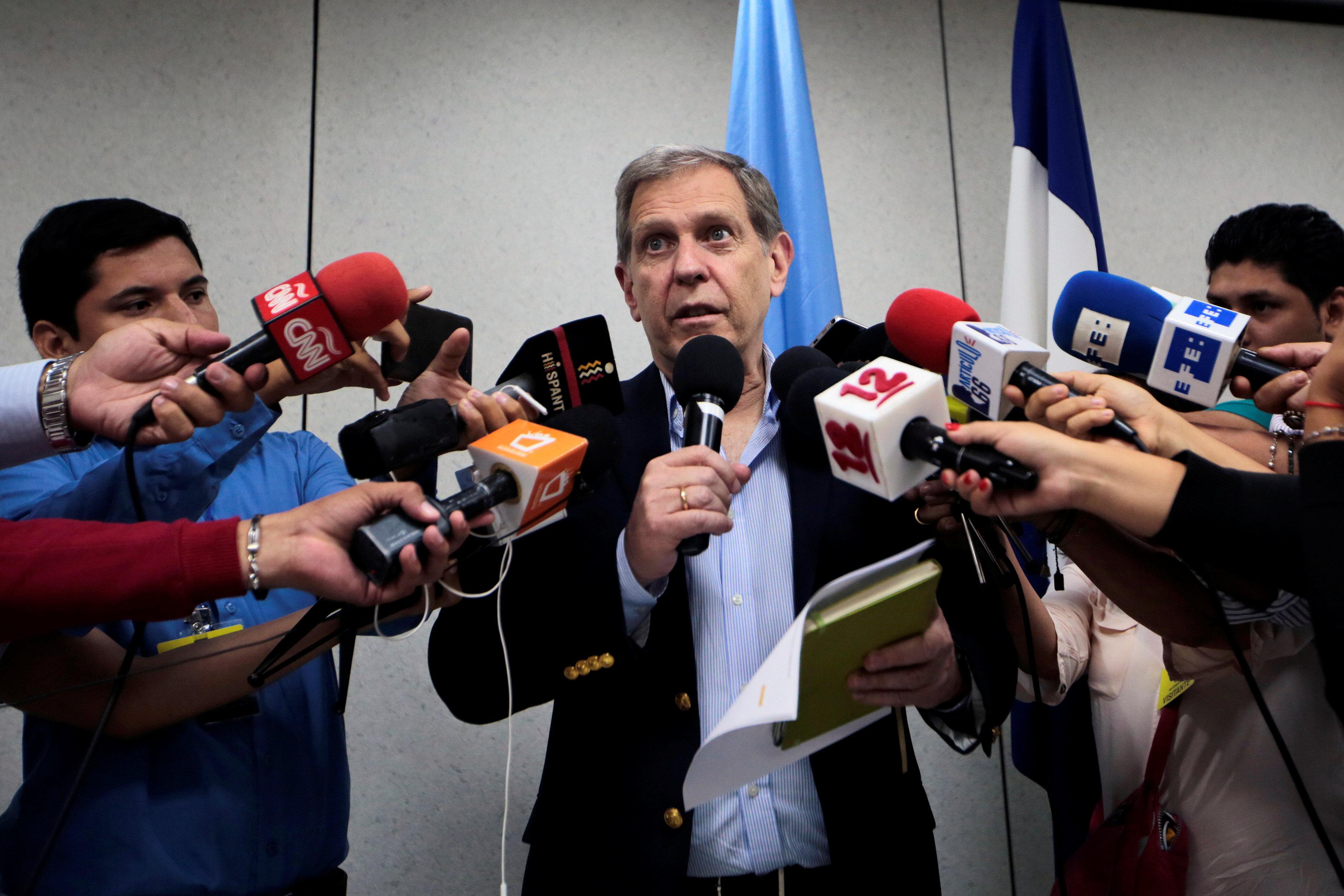 جييرمو فرنانديز رئيس بعثة الأمم المتحدة فى  نيكاراجوا