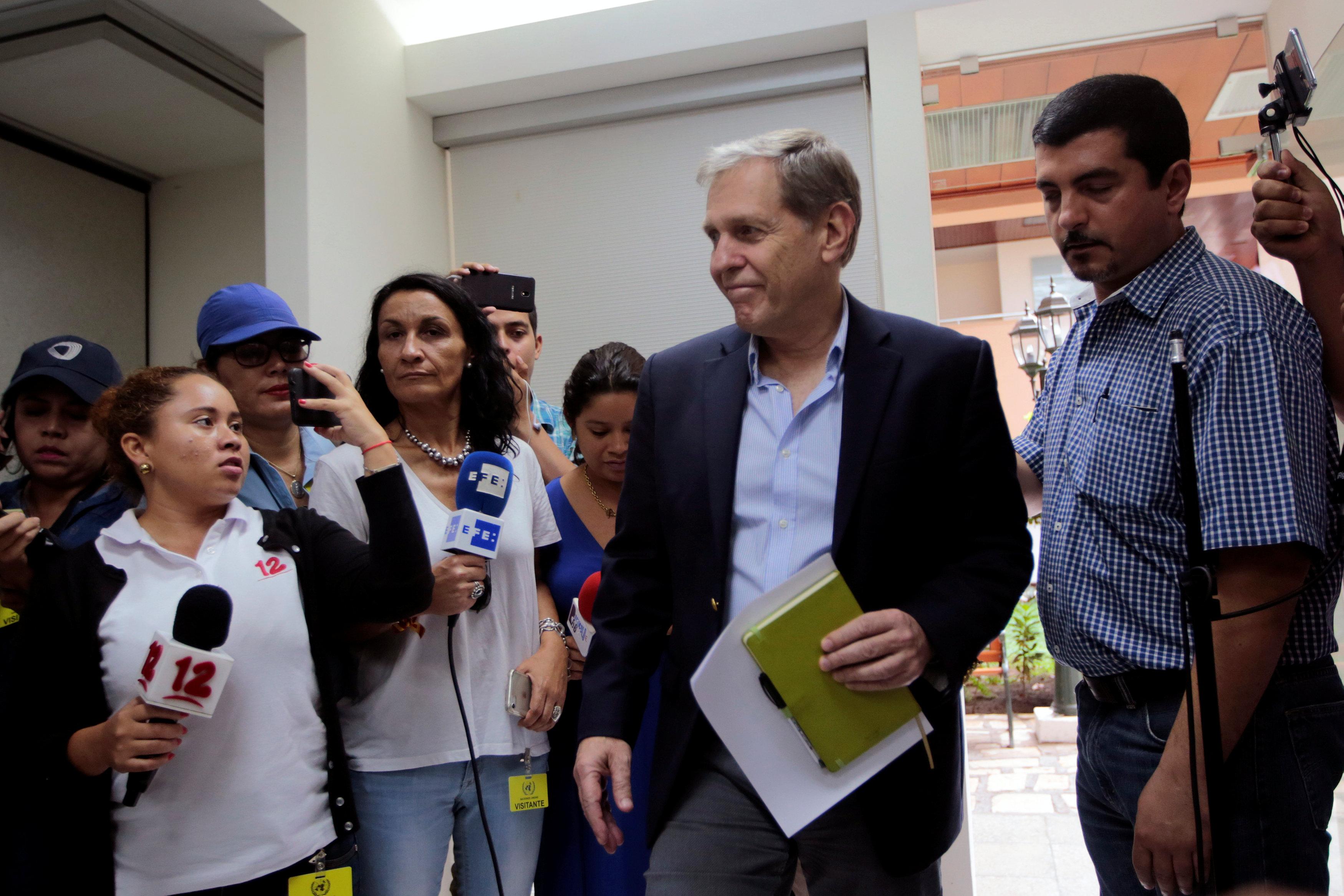 فرنانديز رئيس بعثة الأمم المتحدة لحقوق الإنسان نيكاراجوا