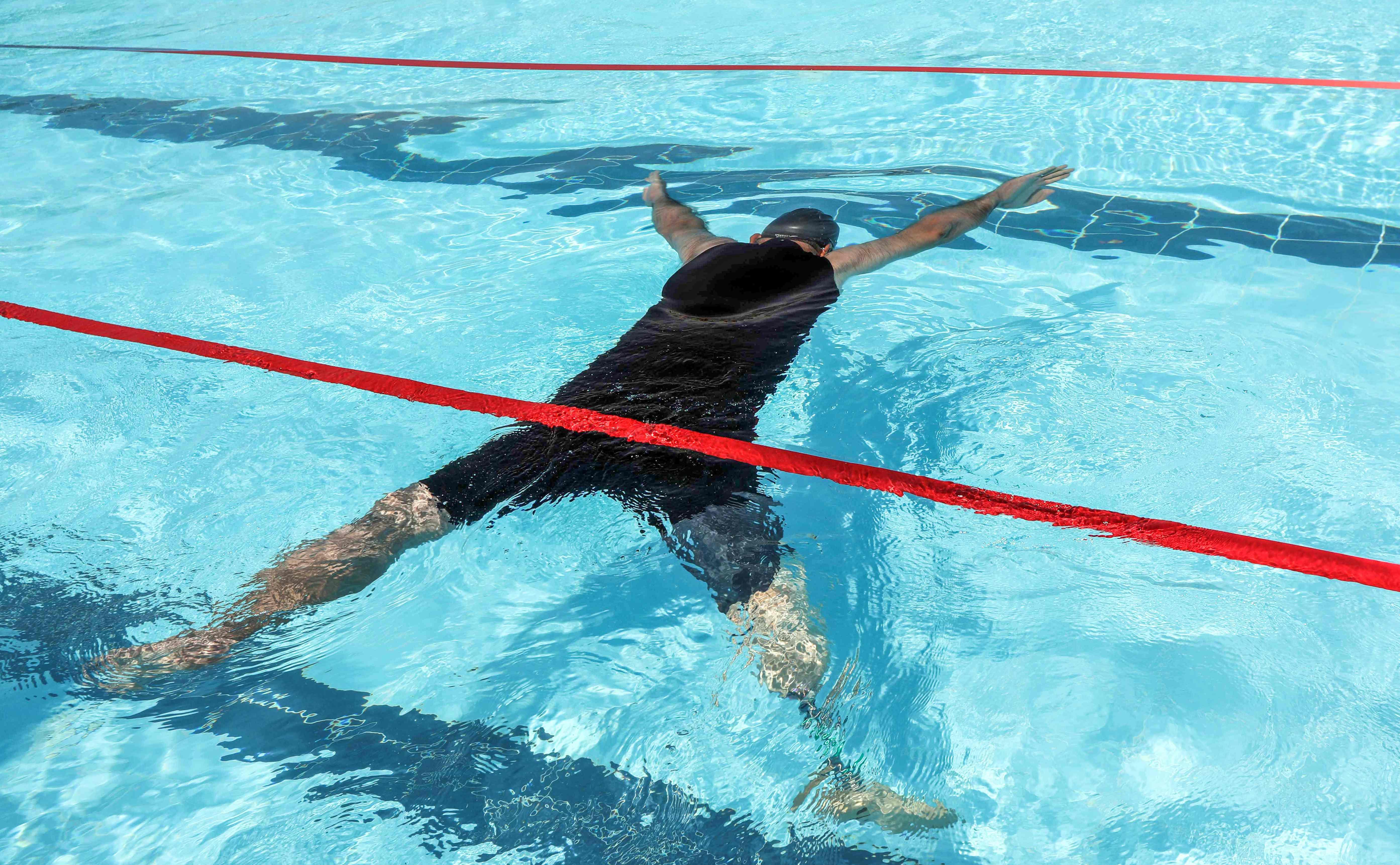 سباحة متحدى الإعاقة فى العراق