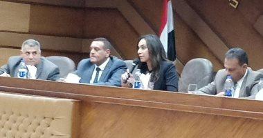الدكتورة نهال بلبع نائب محافظ البحيرة  (2)