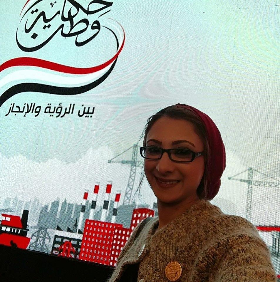 حنان مجدي نور الدين نائب محافظ الوادى الجديد  (4)