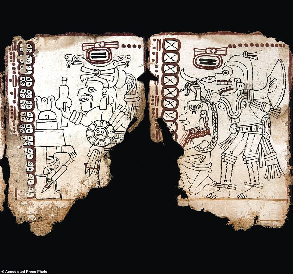 دستور حضارة المايا  (1)