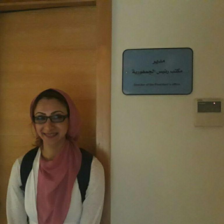 حنان مجدي نور الدين نائب محافظ الوادى الجديد  (3)
