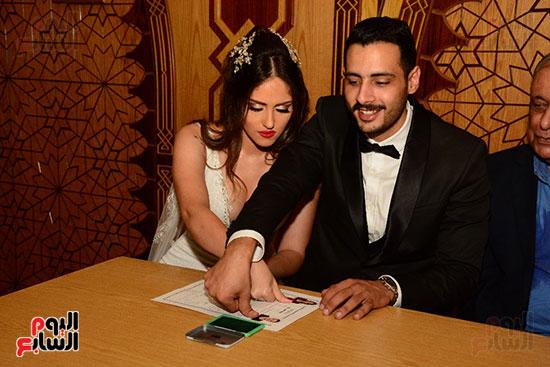 صور عقد قران حامد الشراب نجم مسرح مصر (30)