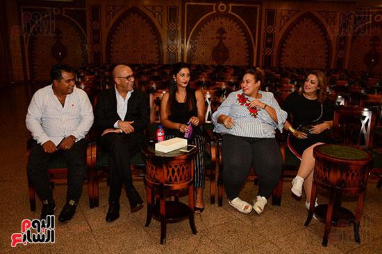 صور عقد قران حامد الشراب نجم مسرح مصر (3)