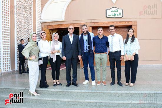 صور عقد قران حامد الشراب نجم مسرح مصر (2)