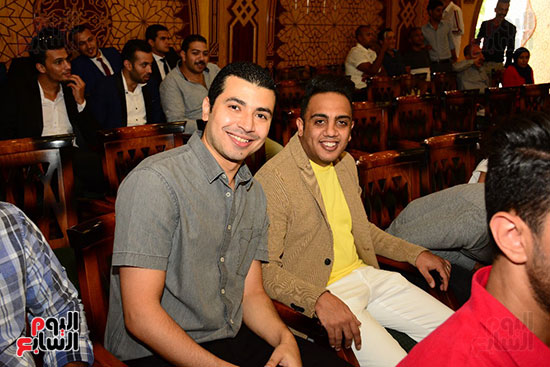 صور عقد قران حامد الشراب نجم مسرح مصر (37)