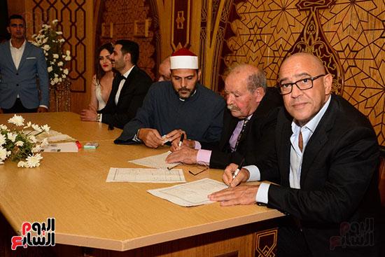 صور عقد قران حامد الشراب نجم مسرح مصر (34)