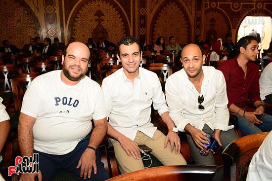 صور عقد قران حامد الشراب نجم مسرح مصر (14)