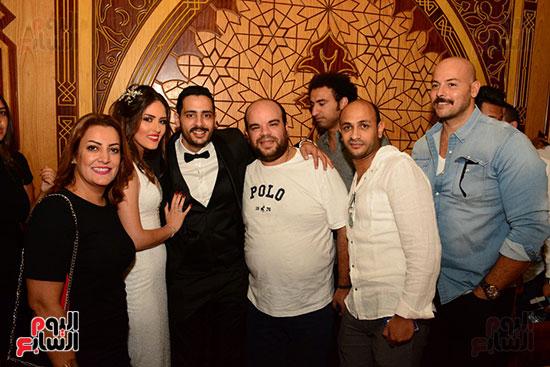 صور عقد قران حامد الشراب نجم مسرح مصر (46)