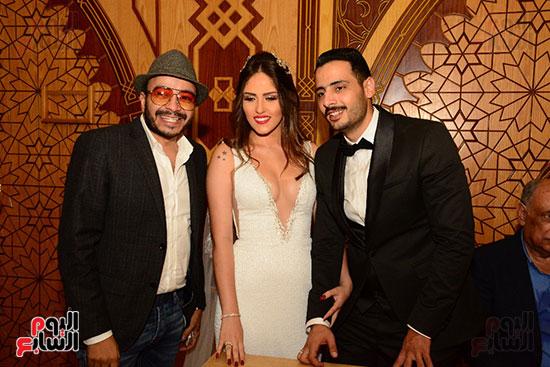 صور عقد قران حامد الشراب نجم مسرح مصر (35)