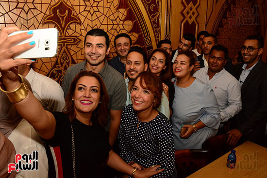 صور عقد قران حامد الشراب نجم مسرح مصر (50)