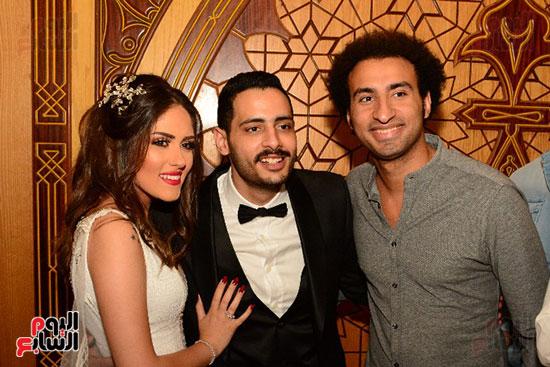 صور عقد قران حامد الشراب نجم مسرح مصر (47)