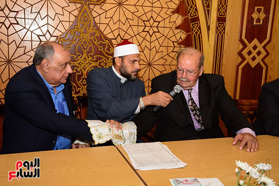 صور عقد قران حامد الشراب نجم مسرح مصر (39)