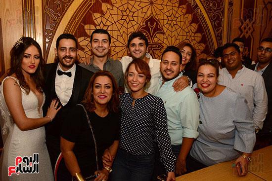 صور عقد قران حامد الشراب نجم مسرح مصر (51)