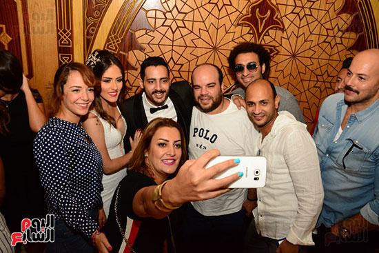 صور عقد قران حامد الشراب نجم مسرح مصر (44)