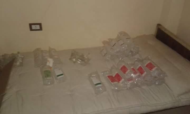 مركز لعلاج إدمان غير مرخص بداخله مرضى وأدوية مخدرة (2)