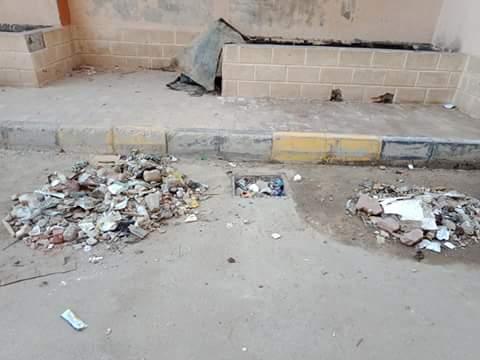 القمامة بشوارع مدينة الدلنجات  (2)