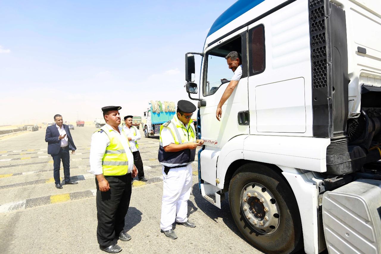 التحقق من رخص سائق نقل