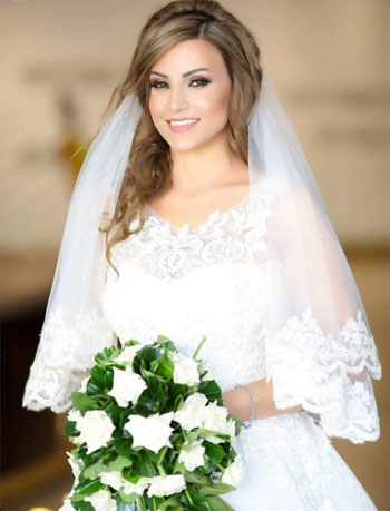 3c3efd351 أخر كلام   النائب إيهاب غطاطى يحتفل بزفافه على الدكتورة فيكتورى حمود