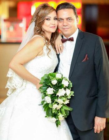 f6d32a6ab أخر كلام | النائب إيهاب غطاطى يحتفل بزفافه على الدكتورة فيكتورى حمود