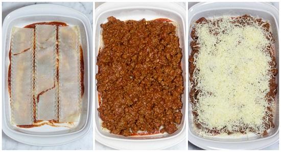 طريقة عمل اللازانيا بالجبنة (6)