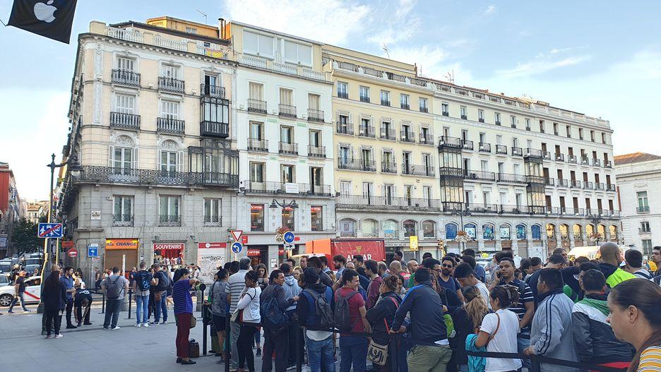 طوابير مدريد