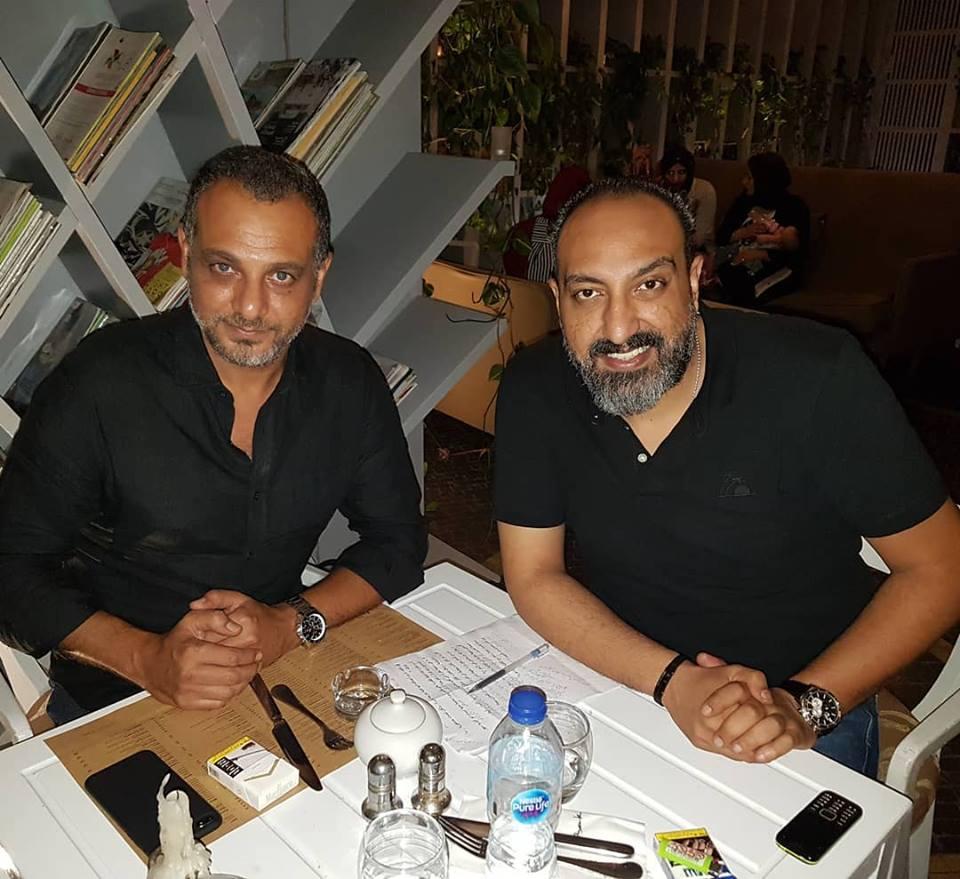 عماد صفوت محرر اليوم السابع والمخرج تامر محسن