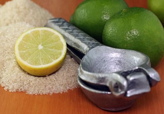 الليمون والسكر