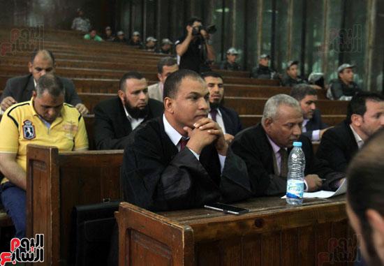 محاكمة المتهمين فى احداث العدوة  (20)