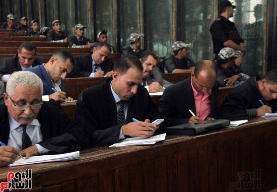 محاكمة المتهمين فى احداث العدوة  (17)