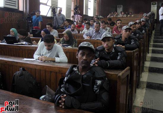 محاكمة المتهمين فى احداث العدوة  (19)