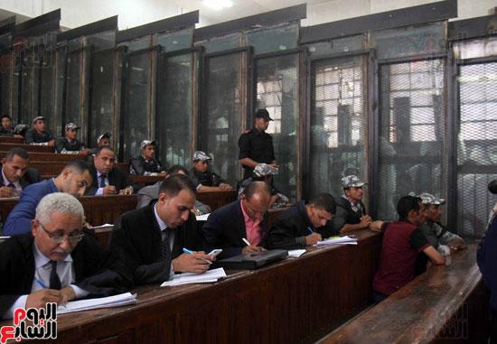 محاكمة المتهمين فى احداث العدوة  (18)