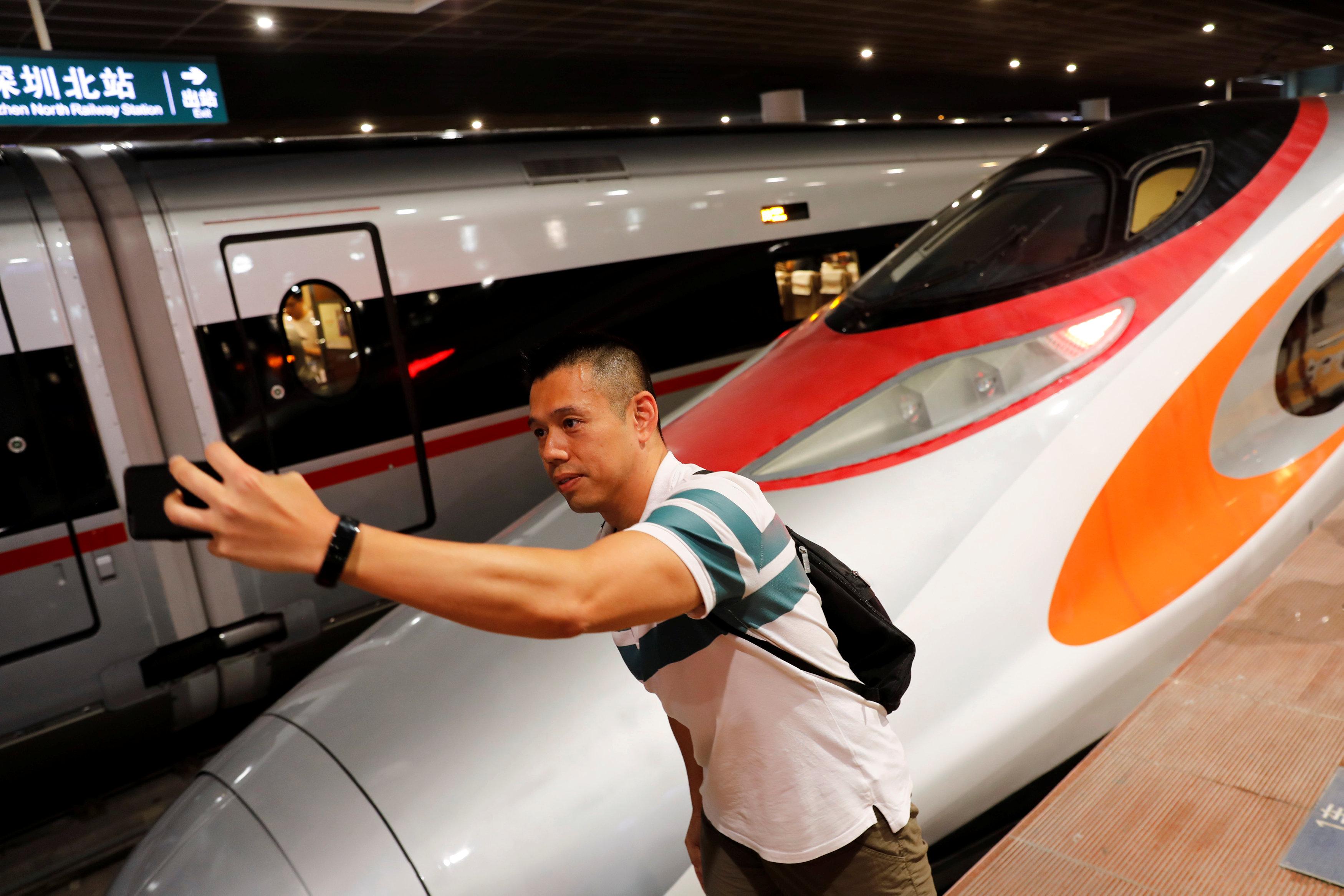 قطار فائق السرعة بالصين