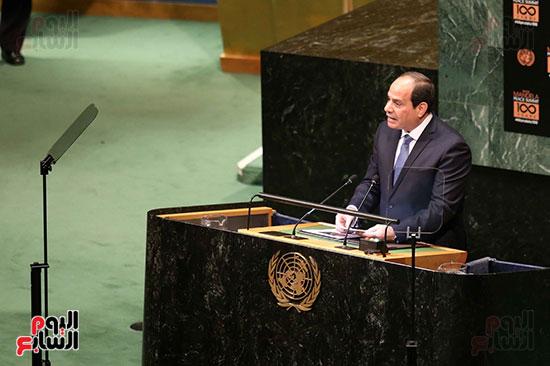 الرئيس السيسى بالامم المتحدة (5)