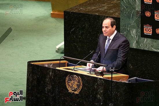 الرئيس السيسى بالامم المتحدة (7)