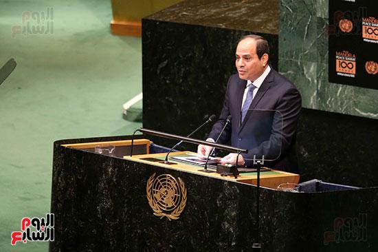 الرئيس السيسى بالامم المتحدة (3)