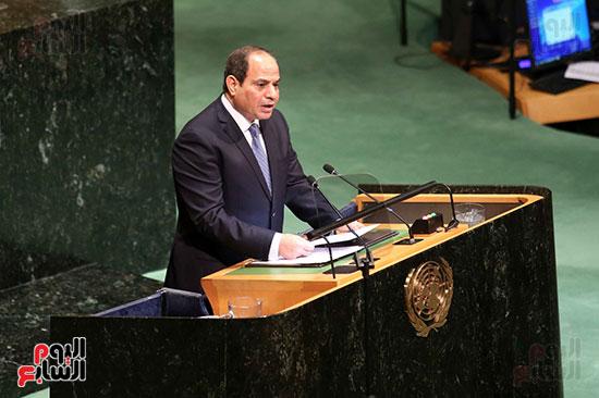 الرئيس السيسى بالامم المتحدة (2)